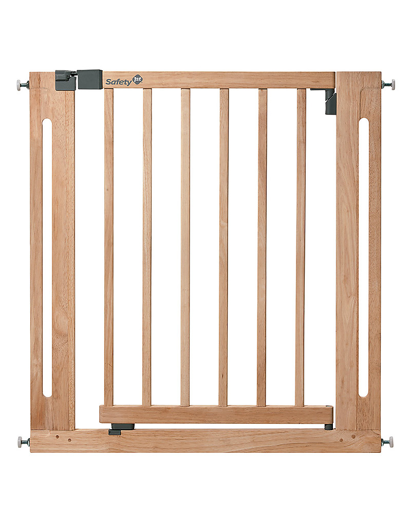safety st easy close  cm wooden baby gate – extensible up to  - safety st easy close  cm wooden baby gate – extensible up to