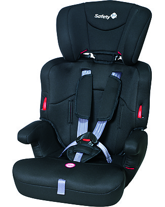 Safety 1st Ever Safe Car Seat, Full Black Group 1/2/3 – from 9 months to 12 years! Car Seats