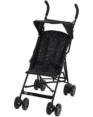 Safety 1st Flap Stroller, Splatter Black - Ultracompact and lightweight Lights Strollers