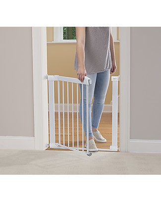 Safety 1st Flat Step Pressure Baby Safety Gate, White Safety Gates