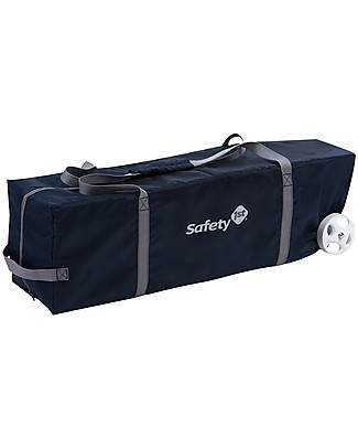 Safety 1st Full Dreams Travel Baby Bed, Navy Blue -  Includes changing pad and storage pockets Travel Cots