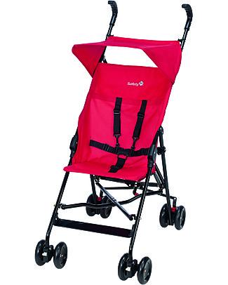 Safety 1st Peps Stroller, Plain Red - Ultra-light, 4.7 Kg only! Lights Strollers