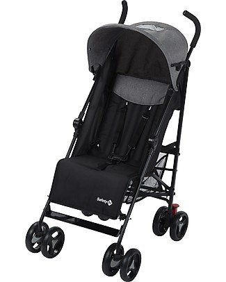 Safety 1st Rainbow Stroller, Black Chic - Multi-position! Lights Strollers