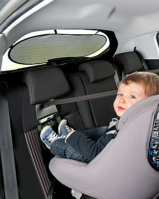 Safety 1st Rear Window Sunshade 85 x 33 cm - Universal, it fits any car! Car Seat Accessories
