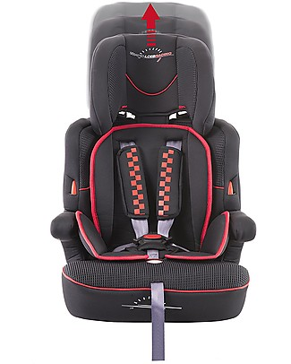 Safety 1st Road Safe Car Seat Sébastian Loeb Limited Edition Group 1/2/3 - Black - From 9 months to 12 years Toddler Car Seats