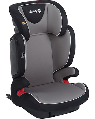 Safety 1st RoadFix, Isofix, Car Seat Group 2-3, Hot Grey - from 3 to 12 years! Child Car Seats