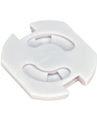 Safety 1st Set of 8 Euro Swivel Socket Inserts, White Baby Safety Accessories