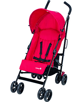 Safety 1st Slim Stroller, Plain Red – Compact and lightweight! Pushchairs
