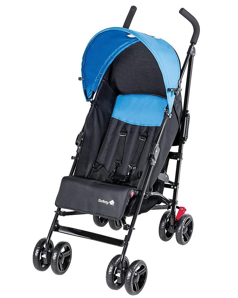 safety 1st slim stroller pop blue compact and lightweight unisex