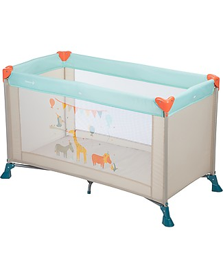 Safety 1st Soft Dreams Travel Bed, Happy Day - 8 Kg only! Travel Cots