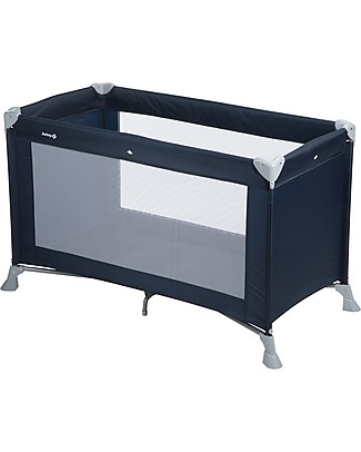 Safety 1st Soft Dreams Travel Bed, Navy Blue - 8 Kg only! Travel Cots
