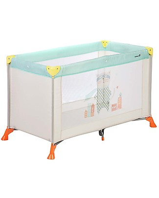 Safety 1st Soft Dreams Travel Bed, Pop Hero - 8 Kg only! Travel Cots
