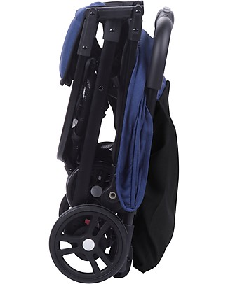 Safety 1st Teeny Stroller, Blue - Airplane Hand Luggage Compliant! Lights Strollers