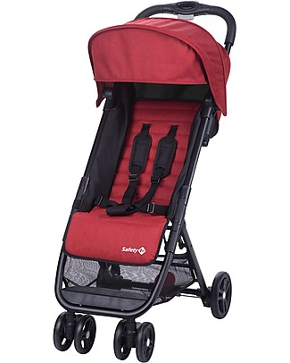 Safety 1st Teeny Stroller, Red - Airplane Hand Luggage Compliant! Lights Strollers