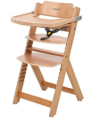 Safety 1st Timba, Evolutive High Chair – Natural – From 6 months to 10 years! High Chairs