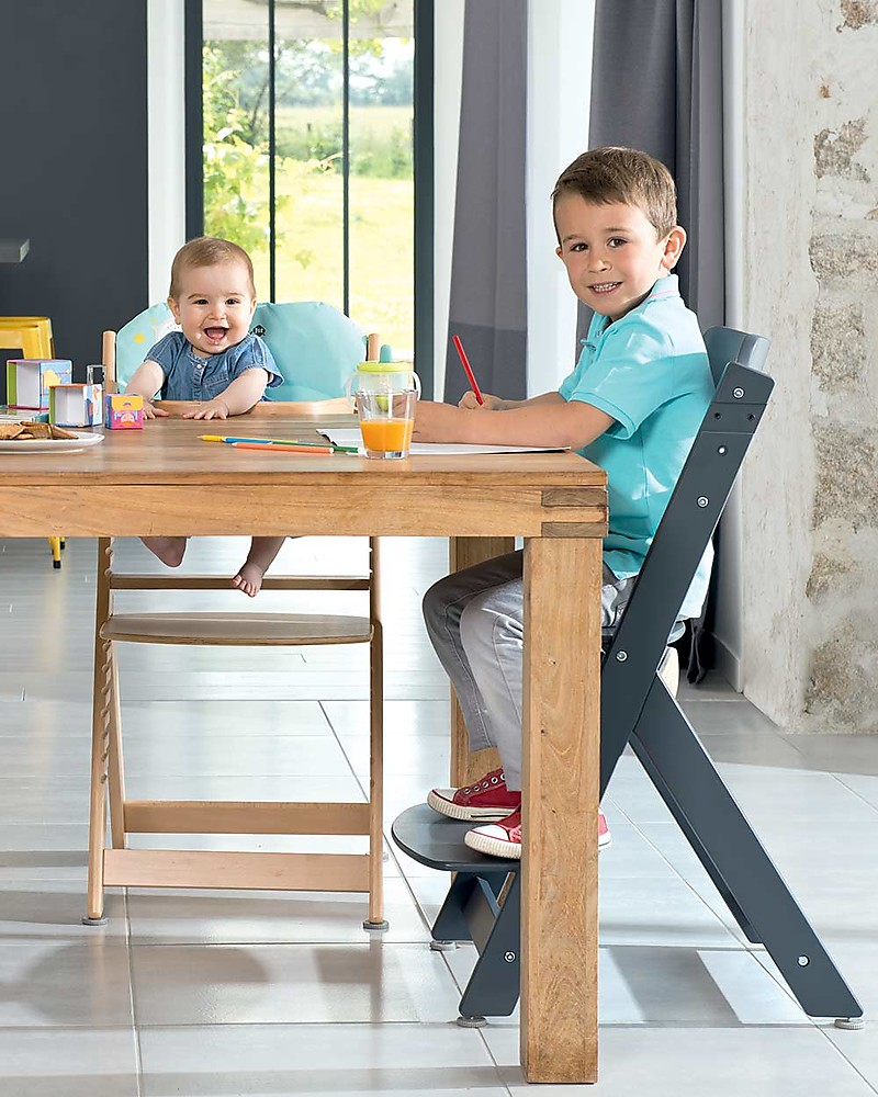 Safety 1st Timba, Evolutive High Chair – White Happy Wood – From 6 ...