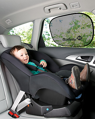 Safety 1st Twist Sunshade, Pack of 2, 46 x 36 cm - With suction cup Car Seat Accessories