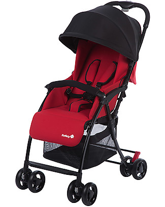 Safety 1st Urby Stroller, Plain Red - Compact and lightweight! Lights Strollers