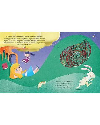 Sassi Junior Die-Cut Reading: Alice in Wonderland, 32 Pages - Age: 5+ Books