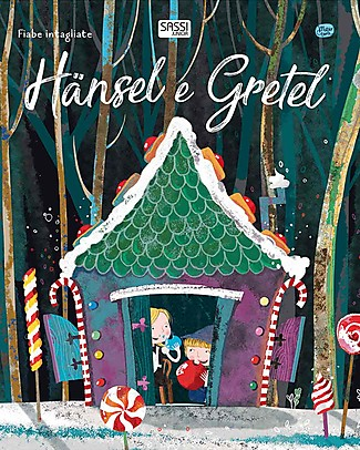Sassi Junior Die-Cut Reading: Hansel and Gretel, 32 Pages - Age: 5+ Books