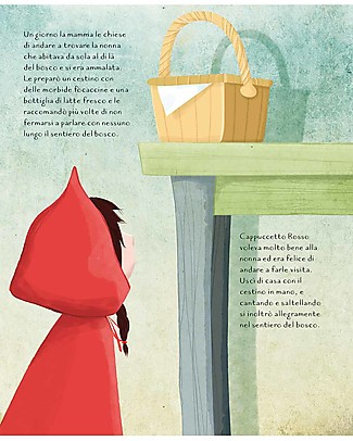 Sassi Junior Die-Cut Reading: Little Red Riding Hood, 32 Pages - Age: 5+ Books