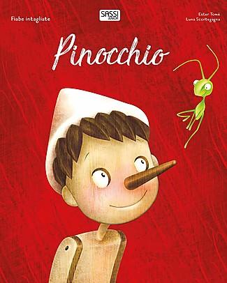 Sassi Junior Die-Cut Reading: Pinocchio, 32 Pages - Age: 5+ Books
