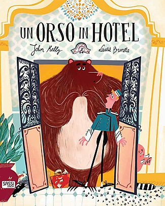 Sassi Junior Illustrated Books: A Bear in the Hotel, 24 Pages - Age: 3+ Books