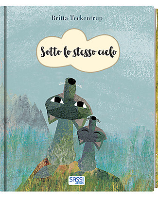 Sassi Junior Illustrated Books: Under the Same Sky, 24 pages - Age: 3+ Story Making Games