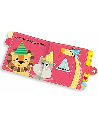 Sassi Junior Pull and Find Out: The Shapes, 10 Pages - Age: 1+ Books