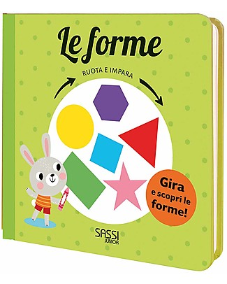 Sassi Junior Turn and Learn: The Shapes, 10 Pages - Age: 3+ Books