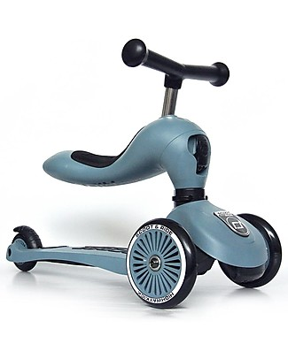 Scoot and Ride 2in1 Scooter and Balance Bike Highwaykick 1, Steel - From 1 up to 5 years old Balance Bikes