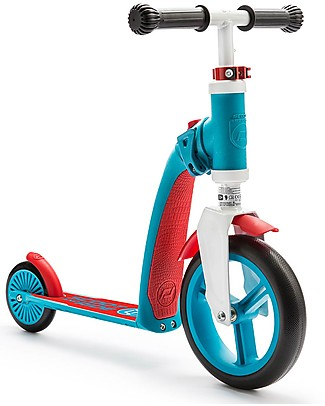 Scoot and Ride 2in1 Toddlers Scooter and Balance Bike Highwaybaby, Blue/Red - 1+ years old Balance Bikes
