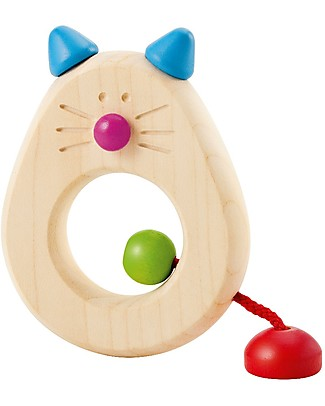 Selecta Catina, Grasping Wooden Toy - Ideal from birth! Teethers