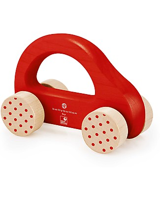 Selecta Little Racer, Wooden toy with wheels Wooden Toy Cars, Trains & Trucks