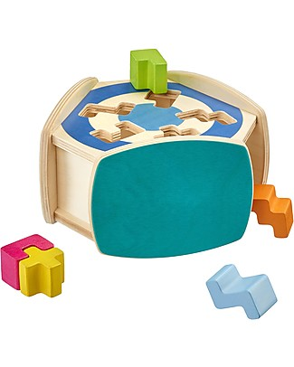 Selecta Sortino - Shape Sorting Wooden Toy Wooden Blocks & Construction Sets