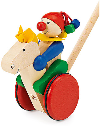 Selecta Trotto – Wooden push toy Wooden Push & Pull Toys