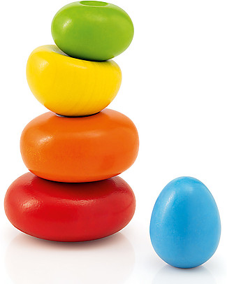 Selecta Wobbly Rocks – Balance Wooden Toy Montessori Toys
