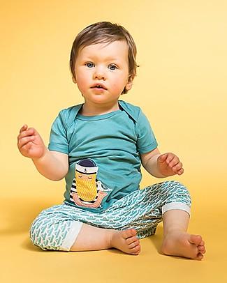 Sense Organics Baby Short Sleeves Shirt with Applique Tobi, Fisherman - 100% organic cotton T-Shirts And Vests