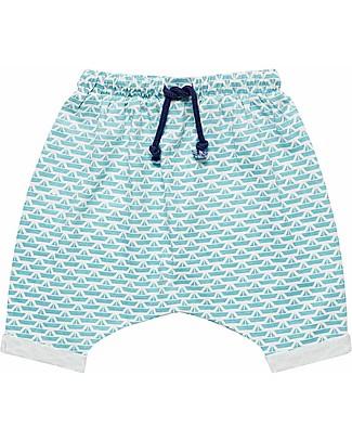 Sense Organics Baby Shorts Magesh, Origami Boats - 100% organic cotton Shorts