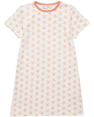 Sense Organics Nightdress Mika Retro, Starfish - 100% organic cotton Robes