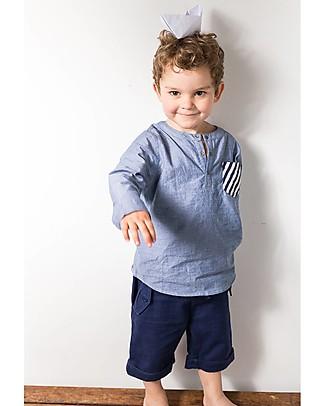Sense Organics Shorts Ulli, Navy - 100% organic cotton Shorts