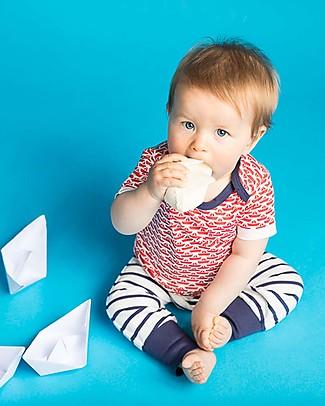 Sense Organics Sjors Babypant, Navy Stripes - 100% organic cotton Trousers