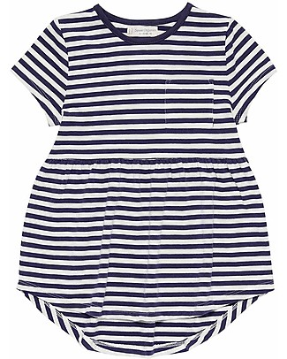 Sense Organics Tunic Elea, Navy Stripes - 100% organic cotton Dresses