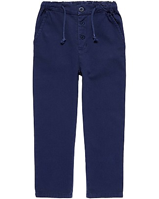 Sense Organics Twill Pant Anton, Navy - 100% organic cotton Shorts