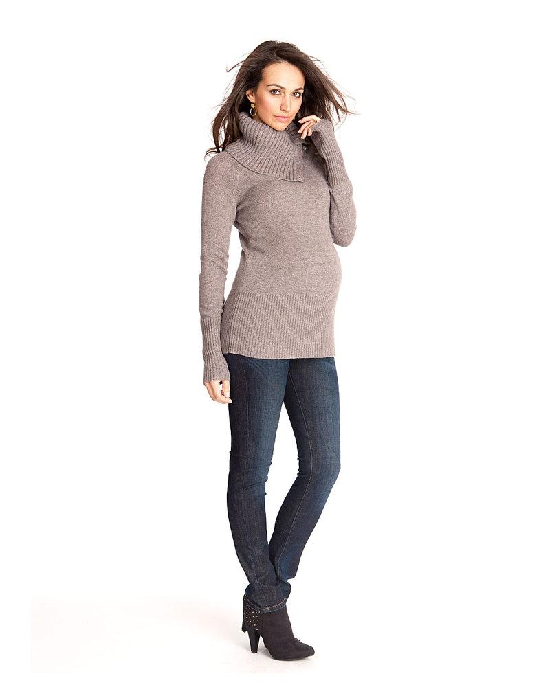 2c6e8bcdde972 Seraphine Ami Maternity Slim Leg Jeans - Vintage Indigo Blue Maternity Jeans