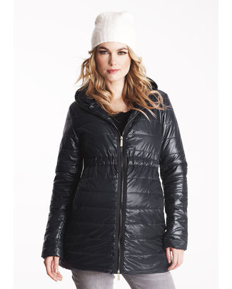 Seraphine Aspen - Maternity Down Jacket - Black Jackets