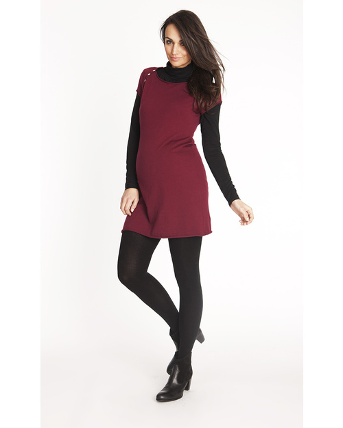 Seraphine Extra Soft Over-Bump Bamboo Maternity Tights - 180 Denier - Black Tights