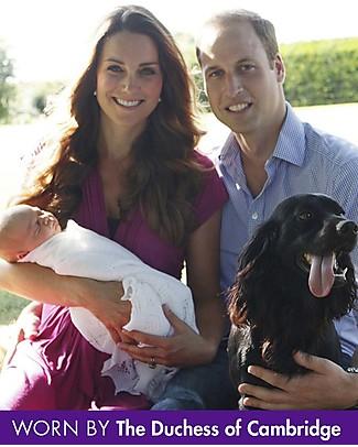 Seraphine Jolene Knot front Maternity Dress - Fuschia (chosen by Kate Middleton) Dresses