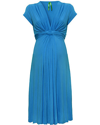 Seraphine Jolene - Knot front Maternity Dress - Seaside (elegant and versatile!) Dresses