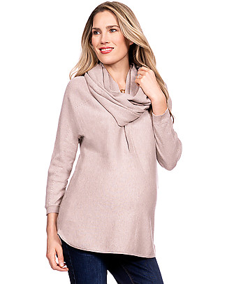 Seraphine Maternity + Baby carrying Beryl Jumper With Nursing Snood  Cardigans